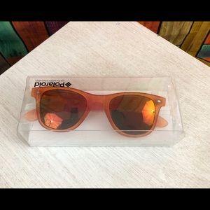 Vintage Polaroid Orange Sunglasses w/ Orange Lens